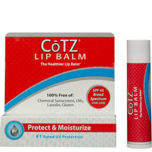 UV Protection Sunscreen Lip Balm by cotz