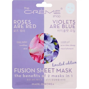 Rose Water & Violet Oil Fusion Mask by The Creme Shop