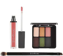Ultimate Eye Palette With Gloss & Dual Brush by eve pearl