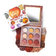 Shiny Sun Shade Palette 9 Color Palette by Dito Cosmetics