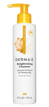Evenly Radiant Brightening Cleanser With Vitamin C by Derma E
