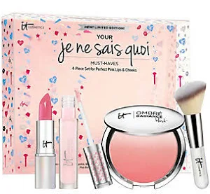 Je Ne Sais Quoi Lip and Cheek Holiday Kit by IT Cosmetics