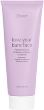 Love Your Bare Face Replenishing Crème-to-Foam Cleanser by julep