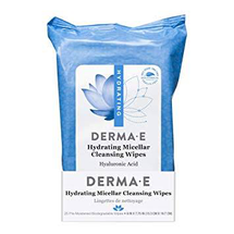 Hydrating Micellar Cleansing Wipes by Derma E