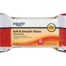 Shea Butter Soft & Smooth Wipes by equate