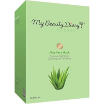 Calming Soothing Hydration Face Mask Aloe Vera by my beauty diary