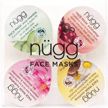 Face Mask 4-Pack: Deep Cleansing Exfoliating Soothing Hydrating by nugg