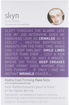 Cool Firming Face Gels With Extensin And Peptides by skyn iceland