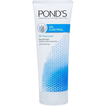 Oil Control Purifying Facial Foam With Mineral Clay Mattifying Face Wash by ponds