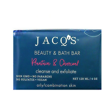 Plantain & Activated Charcoal Face Cleansing Bar by Jacq's