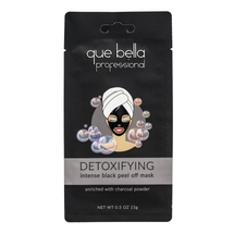 Professional Detoxifying Black Peel Off Mask by que bella