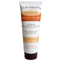 Claymedicx Purifying Face Mask French Red Clay by olivia care