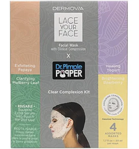 Lace Your Face by Dr. Pimple Popper Clear Complexion Kit by dermovia