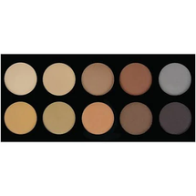 10 Color Brow Palette by Crown Brush