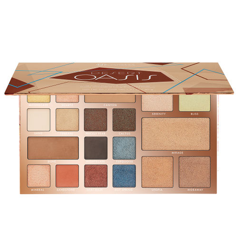 Desert Oasis 19 Color Shadow Highlighter Palette by BH Cosmetics #2