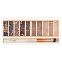 Shimmer & Shade Eyeshadow Palette - Cool Natural by Flower Beauty