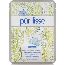 Blue Lotus + Seaweed Treatment Sheet Mask by Purlisse