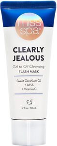 Clearly Jealous Gel To Oil Cleansing Flash Mask by miss spa