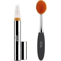Tan Disappearing Ink 4-In-1 Concealer With Brush by pür