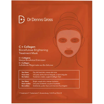 C + Collagen Biocellulose Brightening Treatment Mask by dr dennis gross