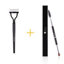 Eyelash Comb Curlers & Duo Eyebrow Brush by Docolor