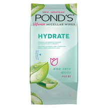 Vitamin Micellar Hydrate Facial Wipes by ponds