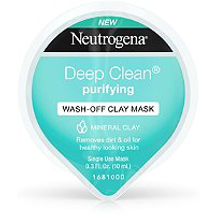 Deep Clean Purifying Wash-Off Clay Mask by Neutrogena