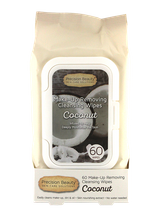 Make Up Removing Cleansing Wipes Coconut by precision