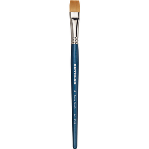 Torey Flat Brush 14 by kryolan