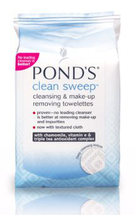 Clean Sweep Cleansing & Makeup Removing Towelettes by ponds