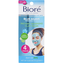 Blue Agave + Baking Soda Instant Warming Clay Mask by Bioré