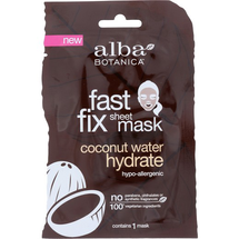 Fast Fix Sheet Mask Coconut Water Hydrate by alba