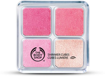 Shimmer Cubes Palette - 26 Hot Pink by The Body Shop