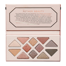 Rose Quartz Crystal Gemstone Palette by Aether Beauty