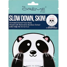 Face Mask Animated Animal Slow Down Skin! by The Creme Shop
