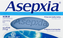 Cleansing Bar Scrub by asepxia