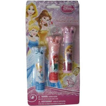 Girls Princesses Lip Balm Set Cosmetic Accessory by disney