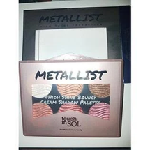 Metallist High Shine Collection Eyeshadow Palette by Touch In Sol