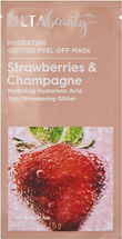 Strawberries and Champagne Hydrating Glitter Peel Off Mask by ULTA Beauty