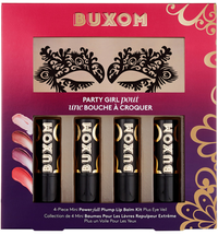 Party Girl Pout 4-Piece Mini Power-full Lip­ Balm by Buxom