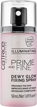 Prime And Fine Dewy Glow Finish Spray - llluminating by Catrice Cosmetics