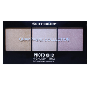 Photo Chic Highlight Trio - Champagne Collection by City Color Cosmetics