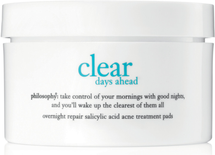 Clear Days Ahead Overnight Repair Acne Treatment Pads by philosophy