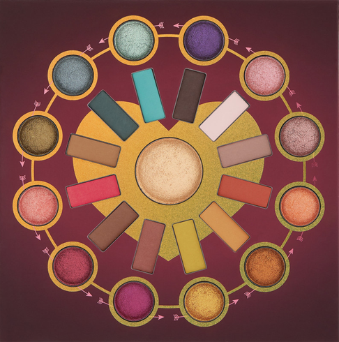 Zodiac Love Signs - 25 Color Eyeshadow & Highlighter Palette by BH Cosmetics #2