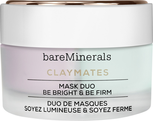 Claymates Mask Duo Be Bright & Be Firm by bareMinerals