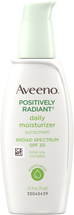 Positively Radiant Daily Moisturizer SPF 30 by Aveeno