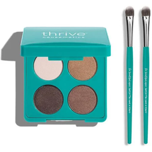 Eyeshadow + Brushes Set by Thrive Causemetics