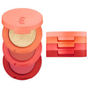 Beauty Bento Bouncy Shimmer Eyeshadow Trio - Poppy Champagne by Kaja Beauty