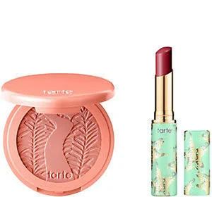 Amazonian Clay Blush & Lip Quench Kit  by Tarte
