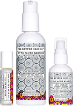 Zit No More Clean, Clear and Moisturized by the better skin co